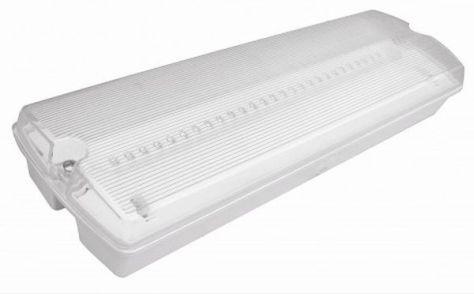 LED Maintained Emergency Bulkhead