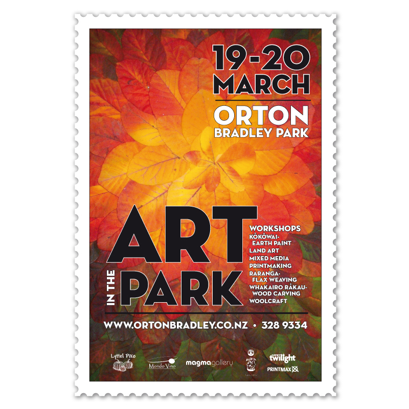 Art in the Park poster
