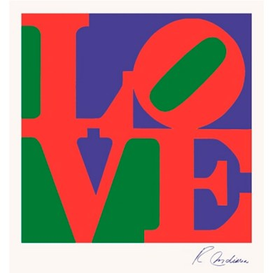 Love - Robert Indiana