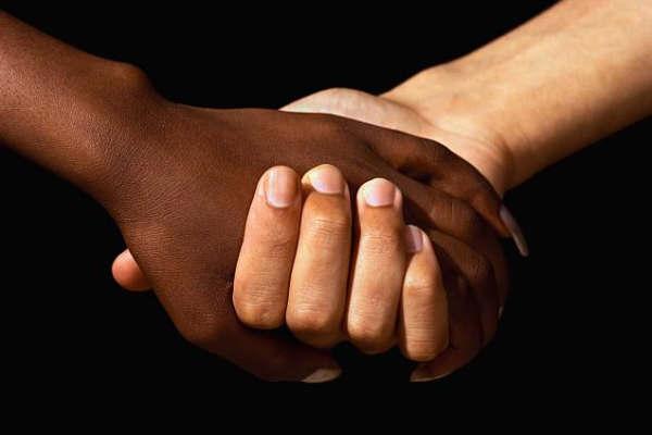 Diga não ao racismo.