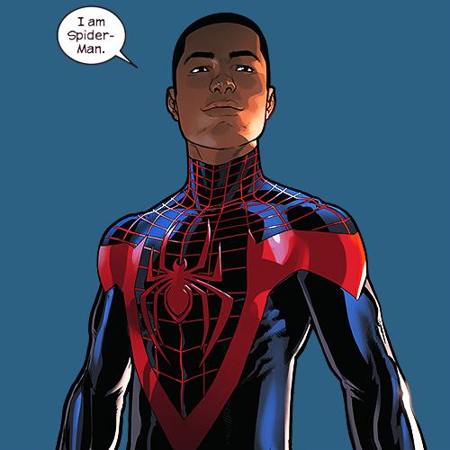 Miles Morales, Homem-Aranha negro.