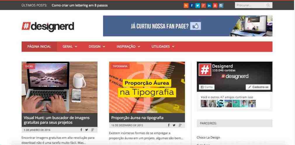 Home do Blog Designerd