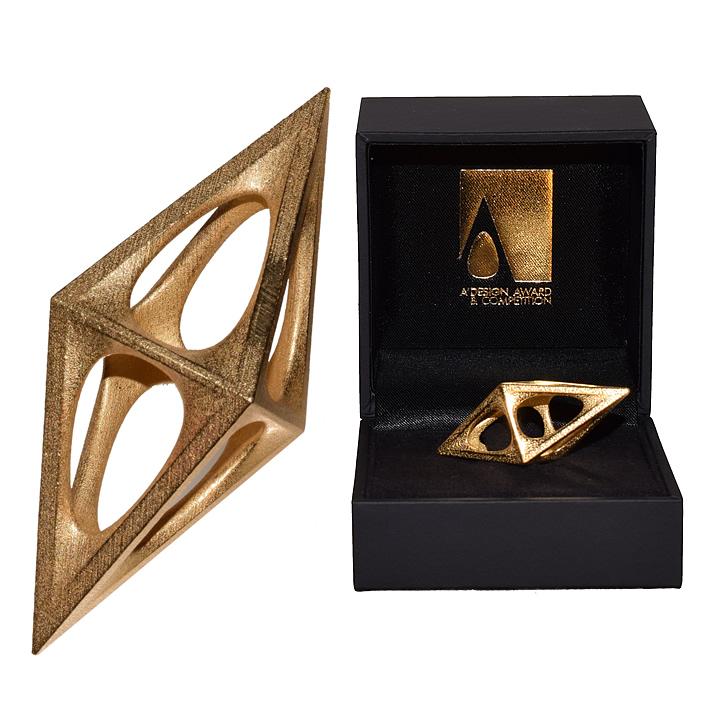 A'Design Troféu de ouro