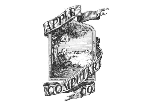 Antigo logotipo da Apple - Design Culture
