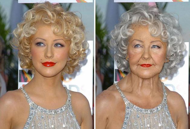 Christina Aguilera por Grumplebits