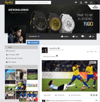Time Line Ronaldinho
