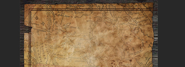Create A Vintage Treasure Map in Photoshop   Design Cuts Treasure Map