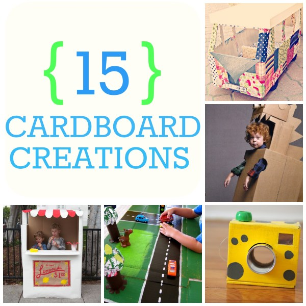 how to make cardboard creations