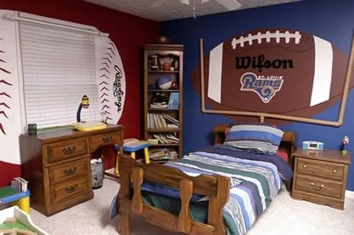 Http Www Designdazzle Com 2013 09 20 Boys Football Room Ideas