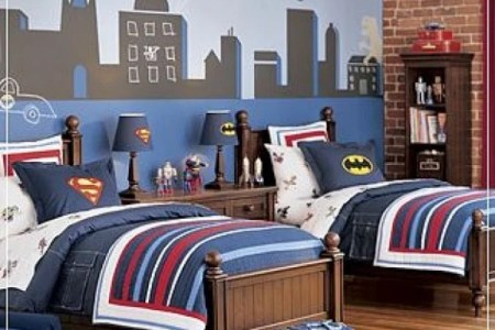 room inspiration 16 superhero themed rooms for boys 12 600x734