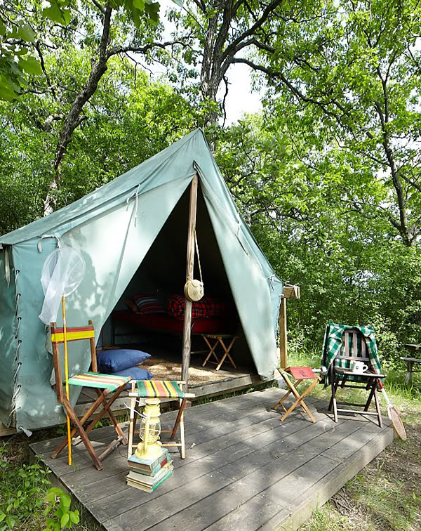 Outdoor tents for kids design dazzle for Canvas platform tents
