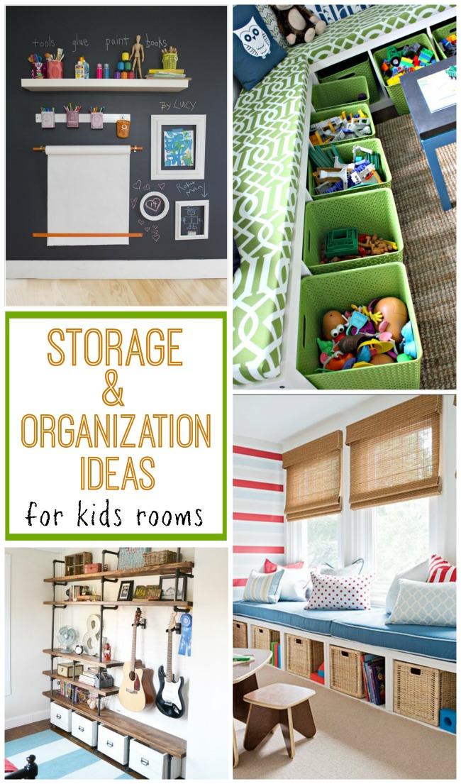 Storage Organization For Kids Rooms Design Dazzle