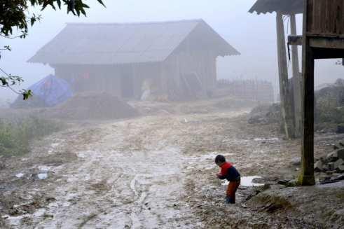 Small village in North Vietnam