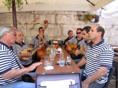 Street Performers in Split