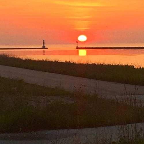 Lake Express morning in Wisconsin