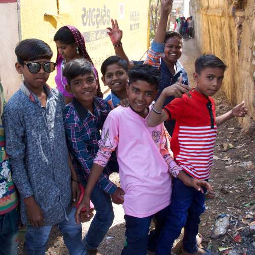The boys at the Kavant Fair