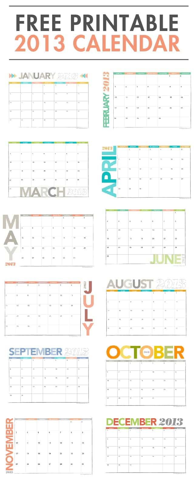 Calendar Repeat : Printable archives page of design eat repeat