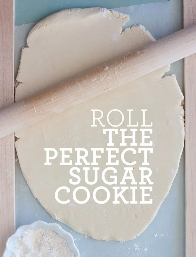 How to Roll the Perfect Cut Out Sugar Cookies | Design Eat Repeat