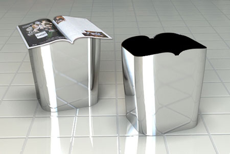 the reading dustbin