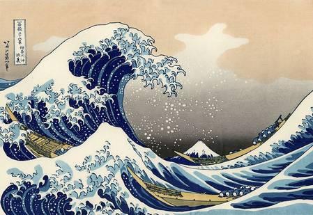 grande vague hokusai
