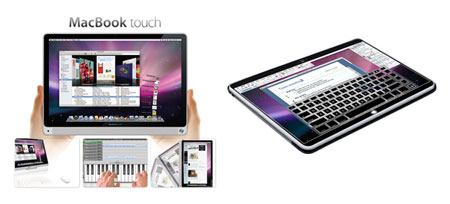 mac book touch mockups