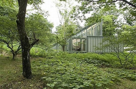 camouflage house