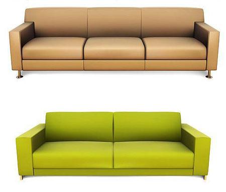 vector sofas