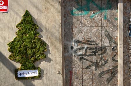 Mosstika - moss tree