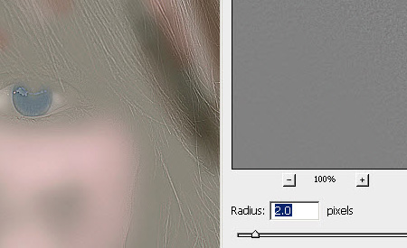 Step 7 - Retouching a photo