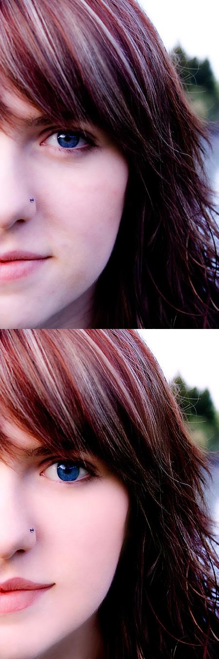 retouching image final vs original
