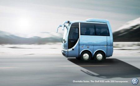 volkswagen r32 ad - bus