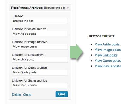 post-format-widget