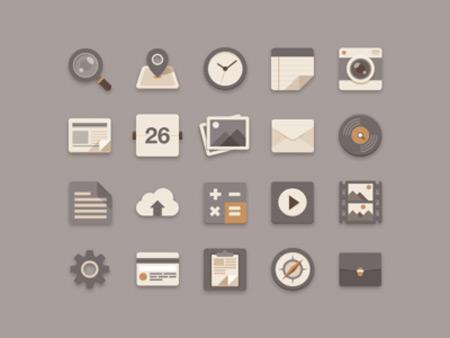 flat_icons_brownie_theme_1x