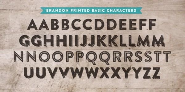 brandon font