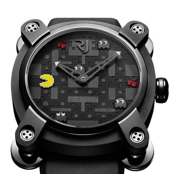 10. PAC-MAN Watch by Romain Jerome
