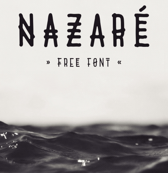 nazare-uppercase-only-typeface