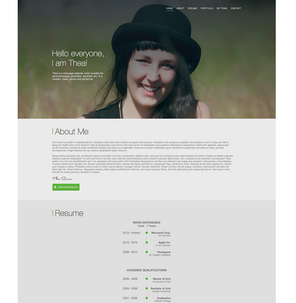 thea-personal-resume-psd-web-template