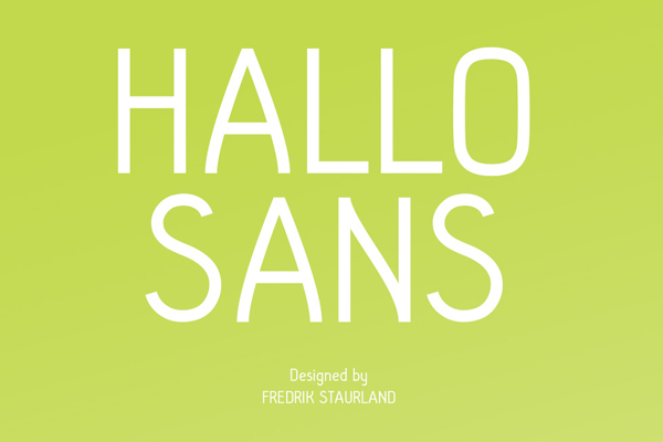 Hallo Sans Font Download