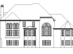 Wiliamsburg rear elevation