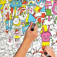 Color in Wallpaper by John Burgerman
