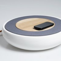 Ceramic Speaker by Victor Johansson