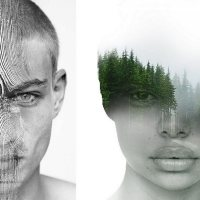 Multiple Exposure Portraits by Antonio Mora
