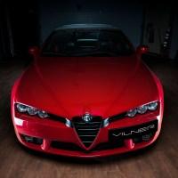The Fibra de Carbono Rosso: An Alfa Romeo Spider Given the Vilner Special Treatment