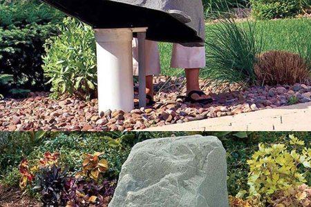 idee deco jardin pierre artificielles
