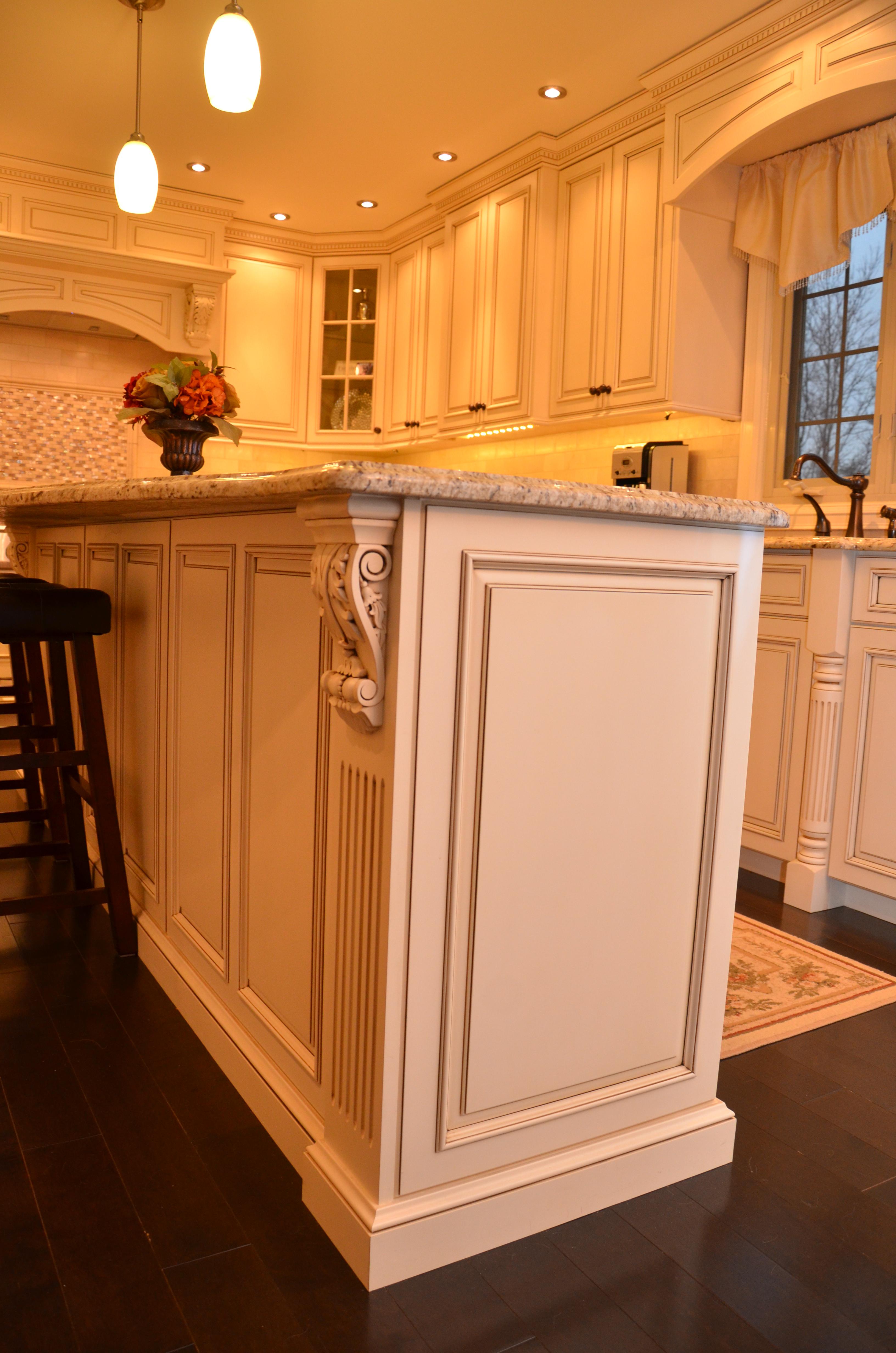 Decorative Glazed Cabinets kitchens by design custom kitchens by design