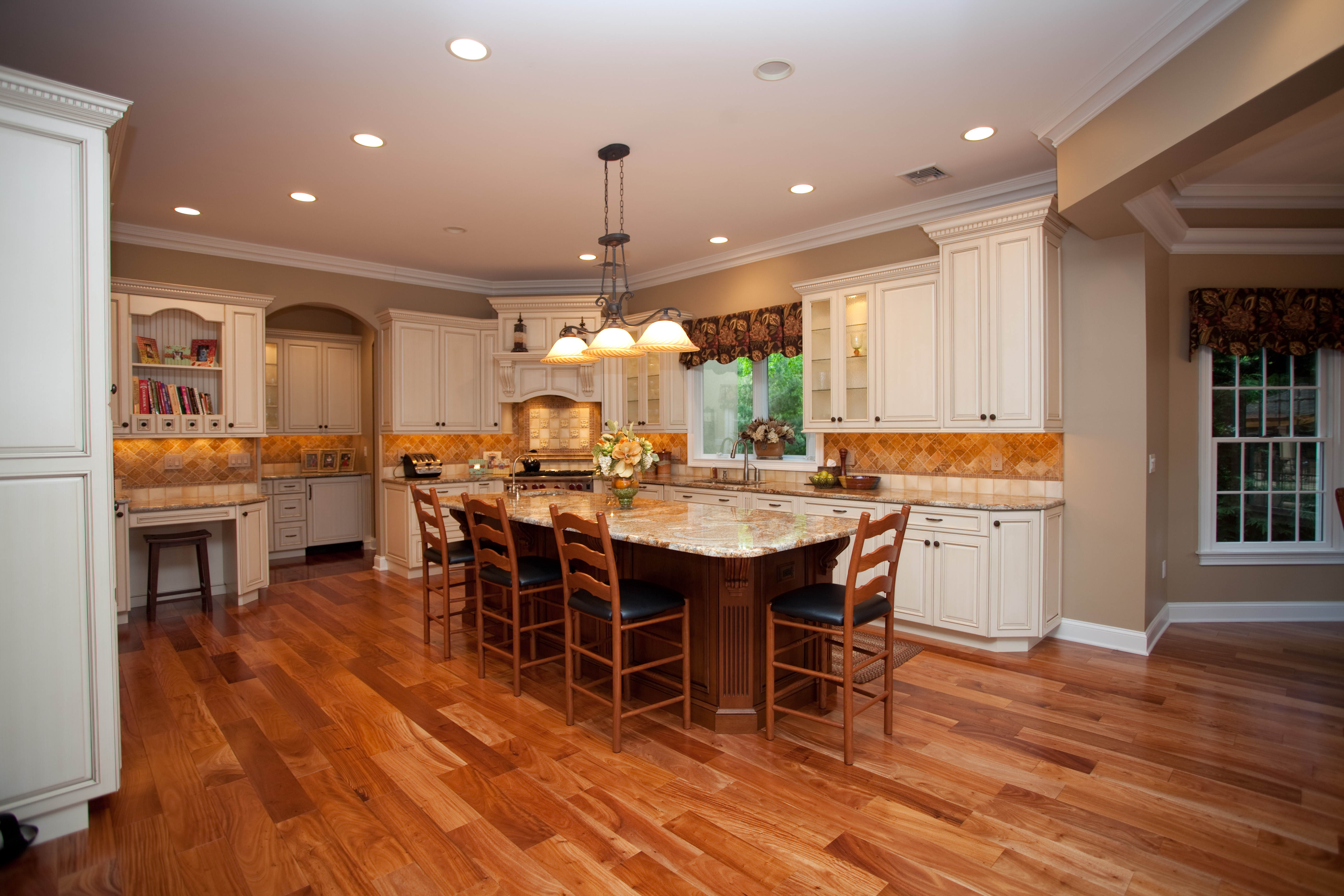 this custom island was designed from a magazine photo brought in by a custom kitchen islands This Custom Island