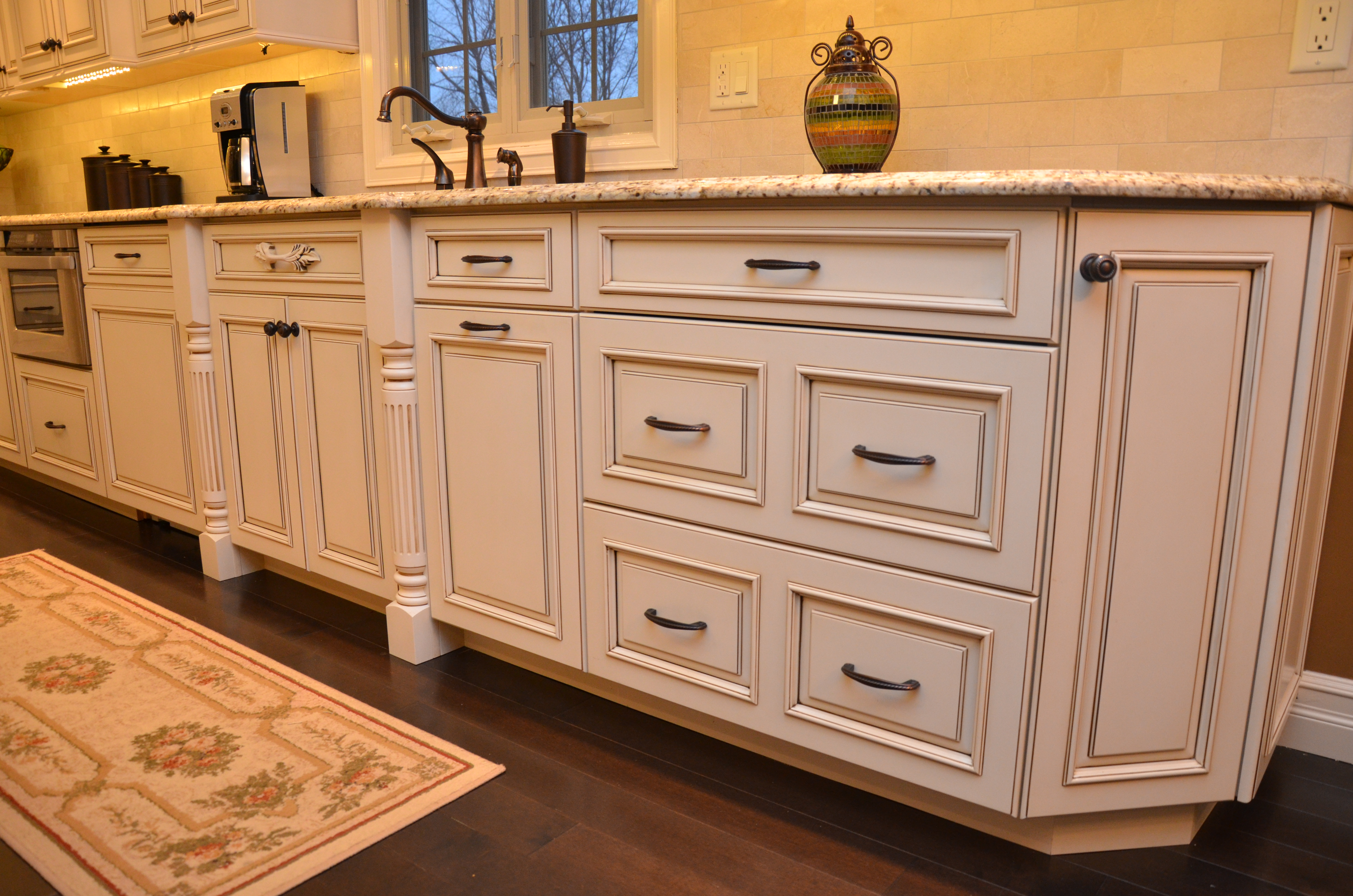 Decorative Glazed Cabinets kitchens by design custom kitchens by design