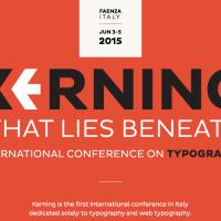 Kerning Conference. La conferenza internazionale sulla tipografia a Faenza