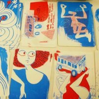 Workshop di illustrazione e stampa risograph