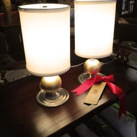 Deco Lamp Pair